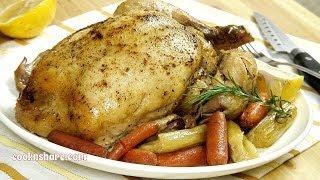 Crock Pot Whole Roast Chicken (Episode 4)