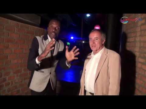 Consul of Republic of Belgium on Lifewalk TV during the EU Film Festival Harare