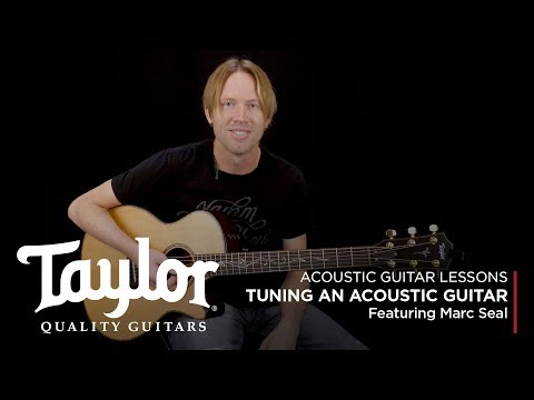 How to Tune an Acoustic Guitar   Taylor Guitars