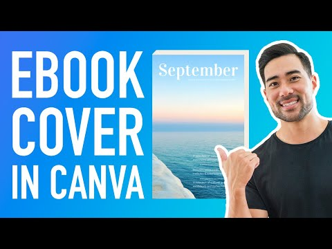 How To Make A 3D Book Cover In Canva For Free