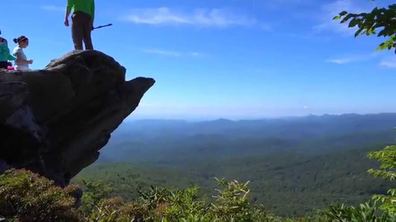 North Carolina Blue Ridge Mountain Country In 4k
