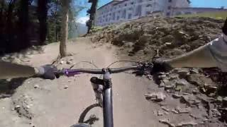 Gorki bike park - Cannondale Jekyll Carbon crash