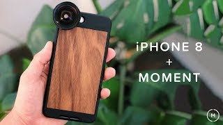 iPhone 8 + Moment Lenses | AMAZING results on the New iPhone 8/8 Plus!