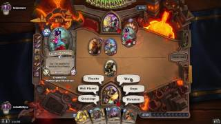 Hearthstone 4 19 2017 Dubs Defeats as he learns to play 1
