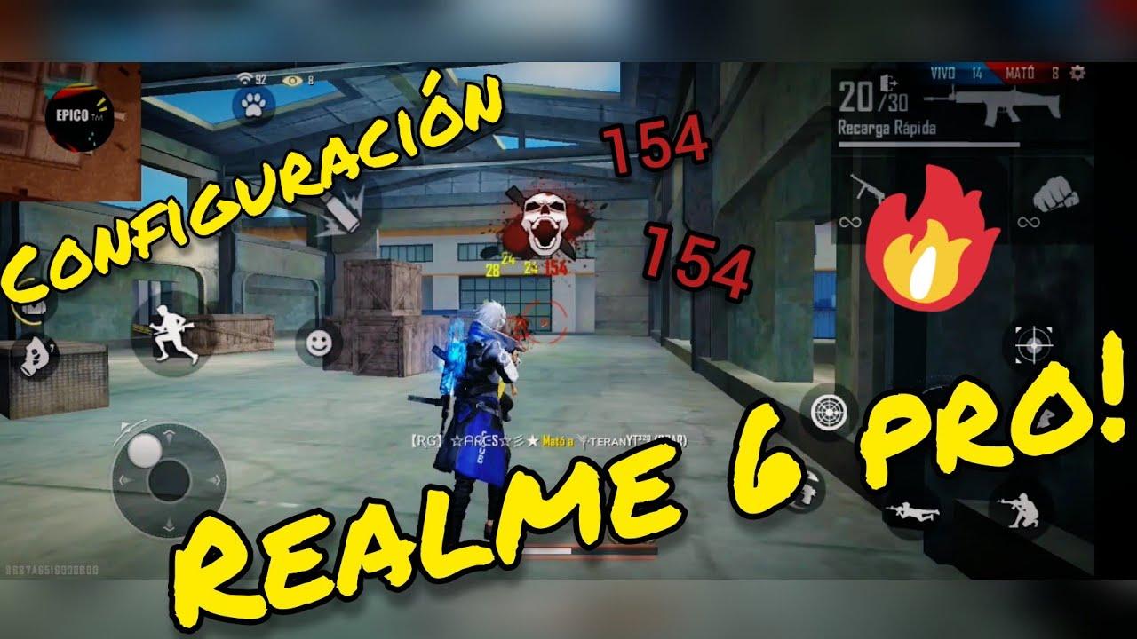 Configuración Free Fire para Realme 6 PRO 😯! Para dar Headshots!!   EPICO ™
