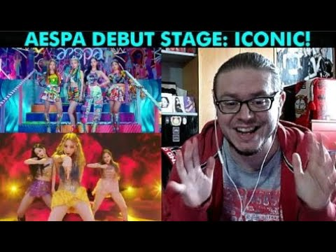 aespa 에스파 'Black Mamba' The Debut Stage REACTION