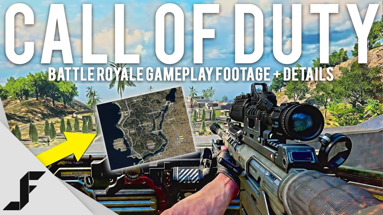 Call of Duty Battle Royale gameplay details + Footage - Now I'm interested in Blackout