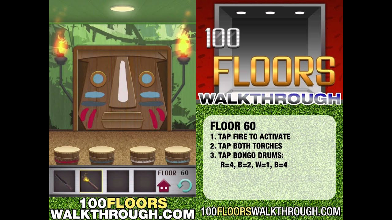 Floor 60 Walkthrough 100 Floors Walkthrough Floor 60