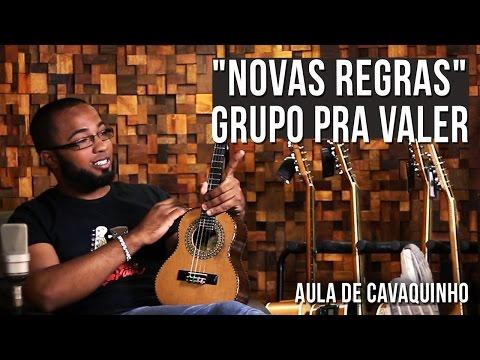 Grupo Pra Valer - Novas Regras (como tocar - aula de cavaquinho)