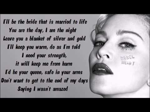 Madonna - Messiah Karaoke / Instrumental with lyrics on screen