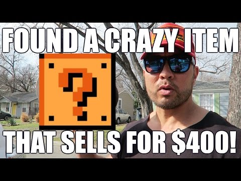 Found a Crazy Item That Sells For $400!