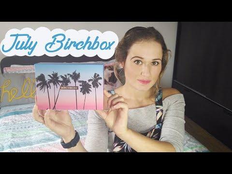 July Birchbox | Tashaly
