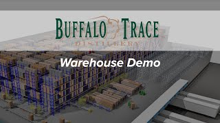 Buffalo Trace Distillery Automated Warehouse Demo
