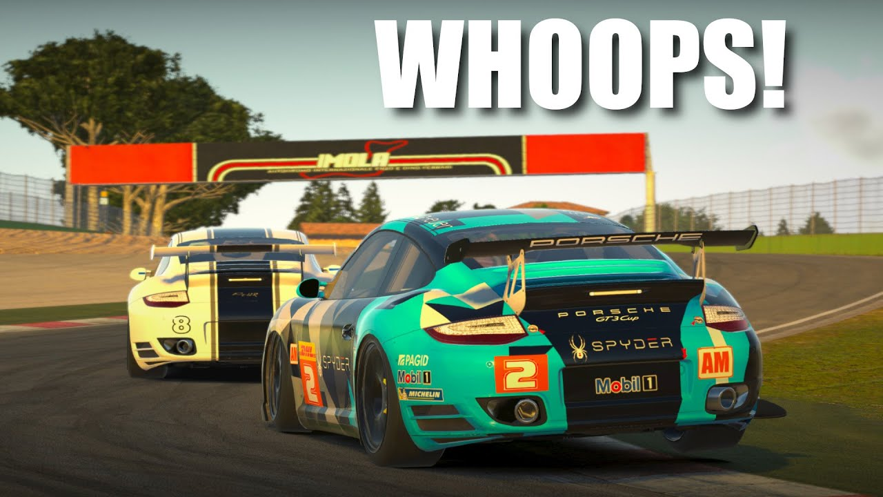Unintentional punt to pass demonstrated! | RUF Challenge @ Imola