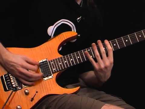 killer metal riff in drop c tuning rhythm guitar lesson youtube. Black Bedroom Furniture Sets. Home Design Ideas