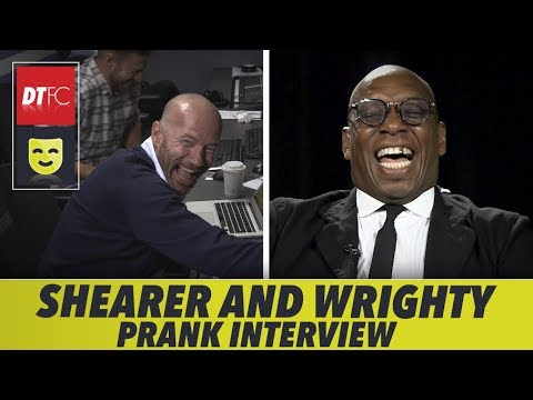 PRANKING A PREMIER LEAGUE LEGEND | With Alan Shearer and Ian Wright
