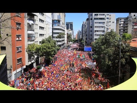 Massive Protest in Support of the Bolivarian Revolution Largely Ignored