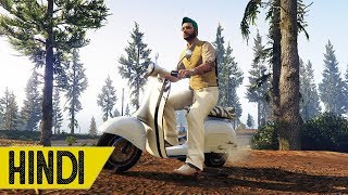 Kiya *INDIAN SCOOTER* Mount Chiliad Per Chade Ga??? | GTA 5 Online