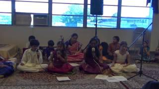 hamsadhwani Jathiswaram by Vijayadhwani Students