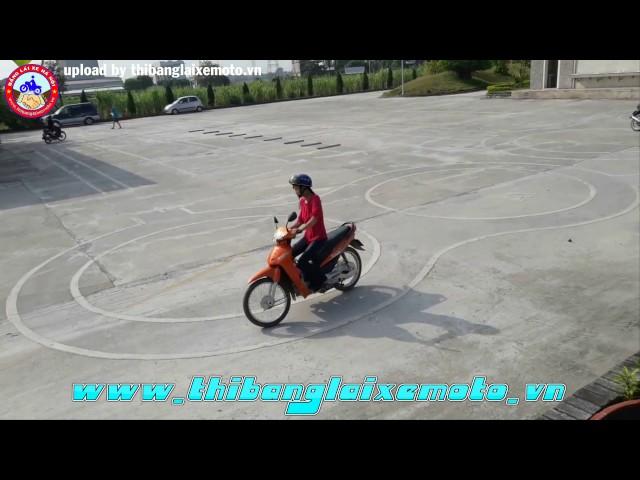 Thi bằng lái xe máy A1 tại Bắc Ninh