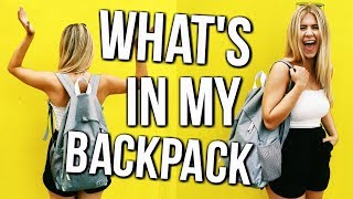 What's In My Backpack for School | Back to School 2017