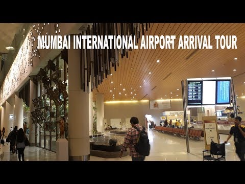 Mumbai International Airport Arrival | Complete Tour