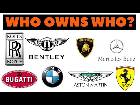 Which automaker company owns your favorite car brand? You'd be surprised