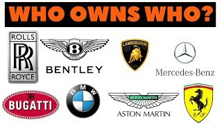 Which automaker company owns your favorite car brand? You
