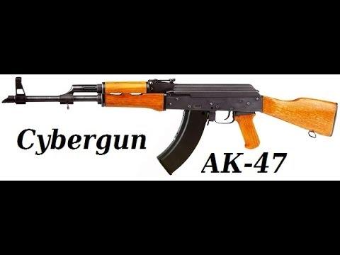 Обзор Cybergun АК 47