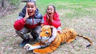 Giant Tiger Kids Pretend Play | FamousTubeKIDS
