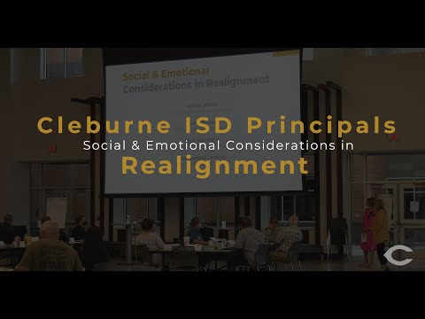 Cleburne ISD: Academic Advisory Committee: Social & Emotional Considerations in Grade Realignment