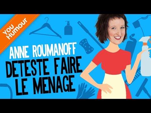 Anne ROUMANOFF, Le ménage en chansons