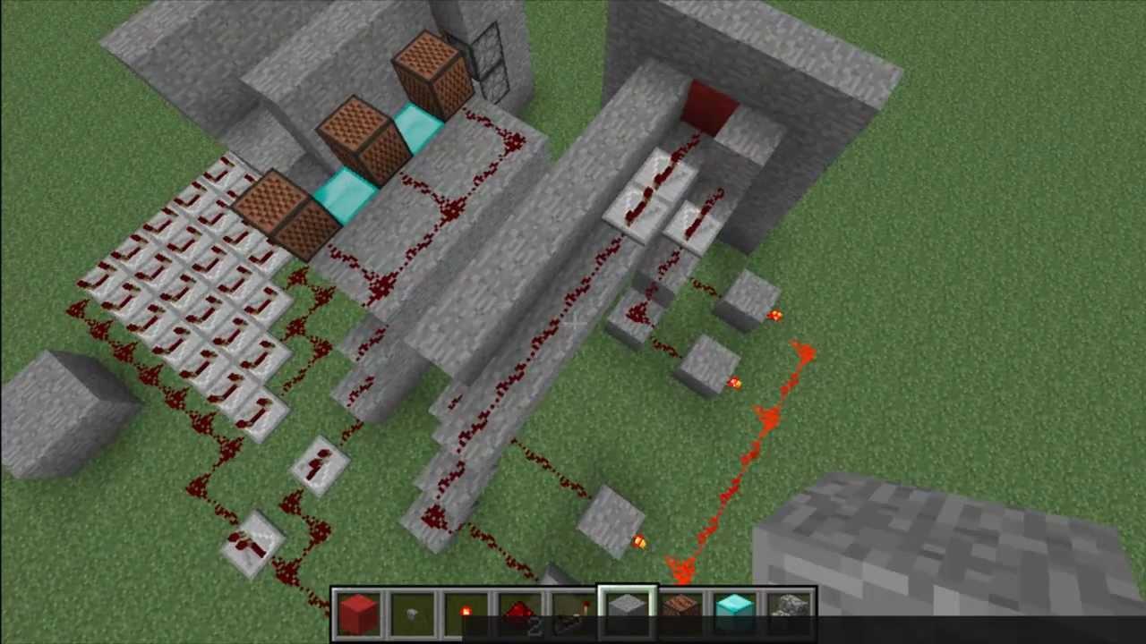 Factory Doors Minecraft & Redstone Stuff [Pistons Doors