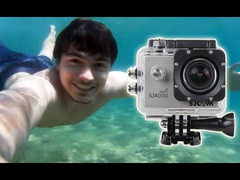 Sjcam SJ4000 Action Camera Original Test Video Full HD Underwater