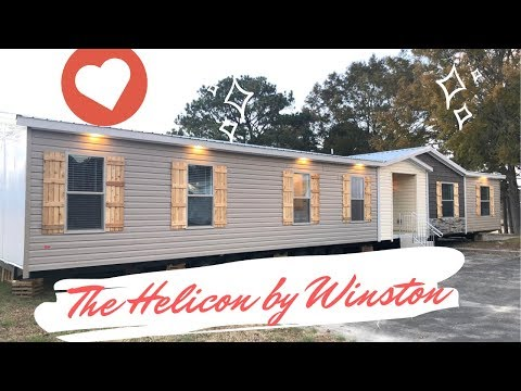 """#mobilehometours """"The Helicon"""" by Winston Homebuilders, 3bed (or 4bed) 2bath home loaded"""