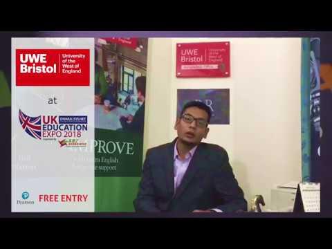 University of the West of England, Bristol at UK Education Expo 2018