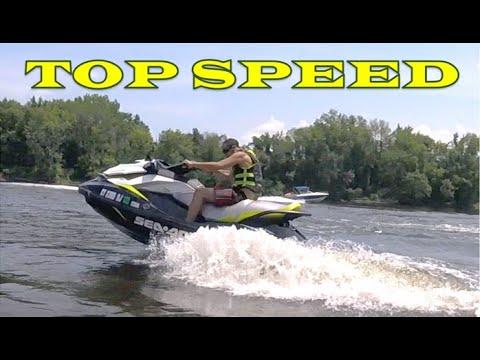 Sea Doo GTI 155 - Top Speed Test Runs
