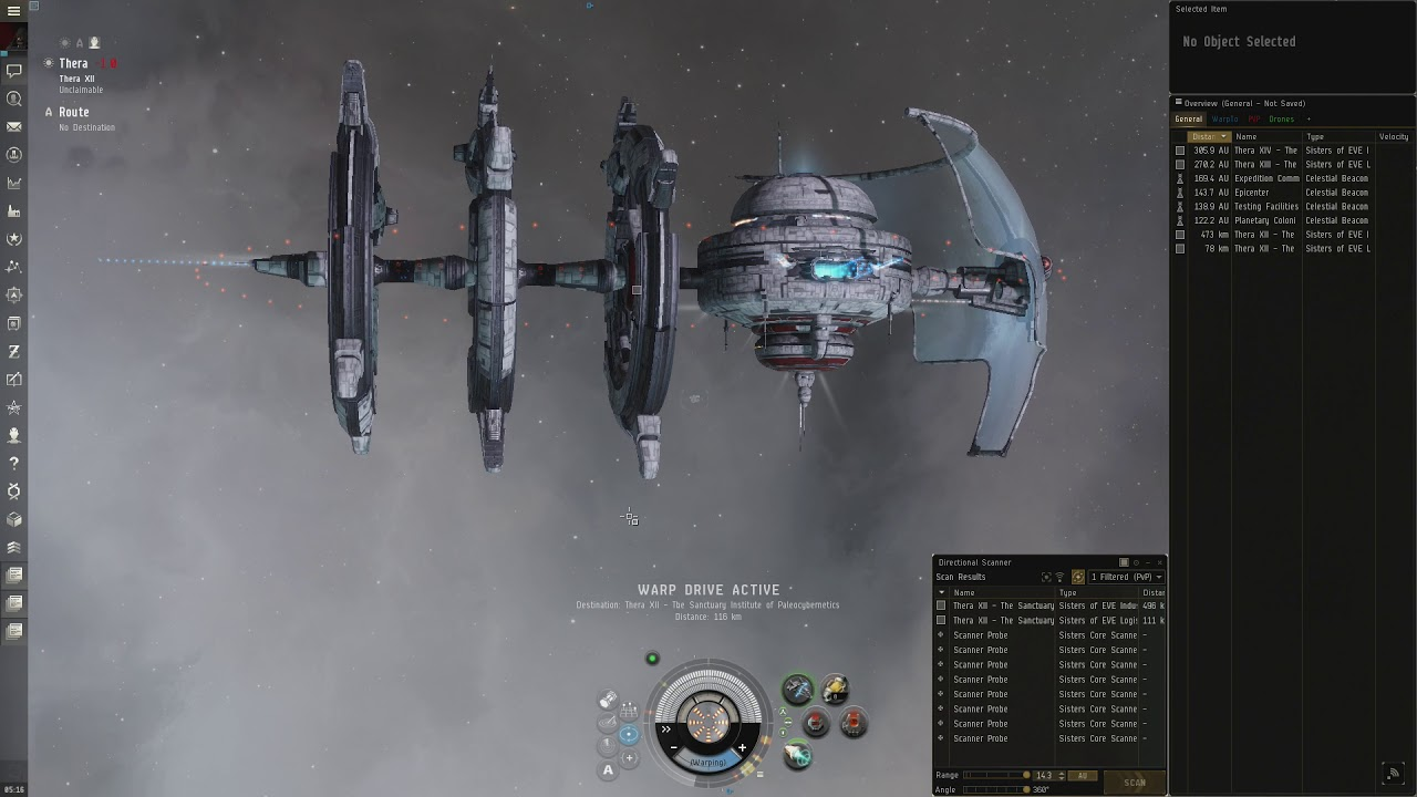 Eve Online Thera WormHole