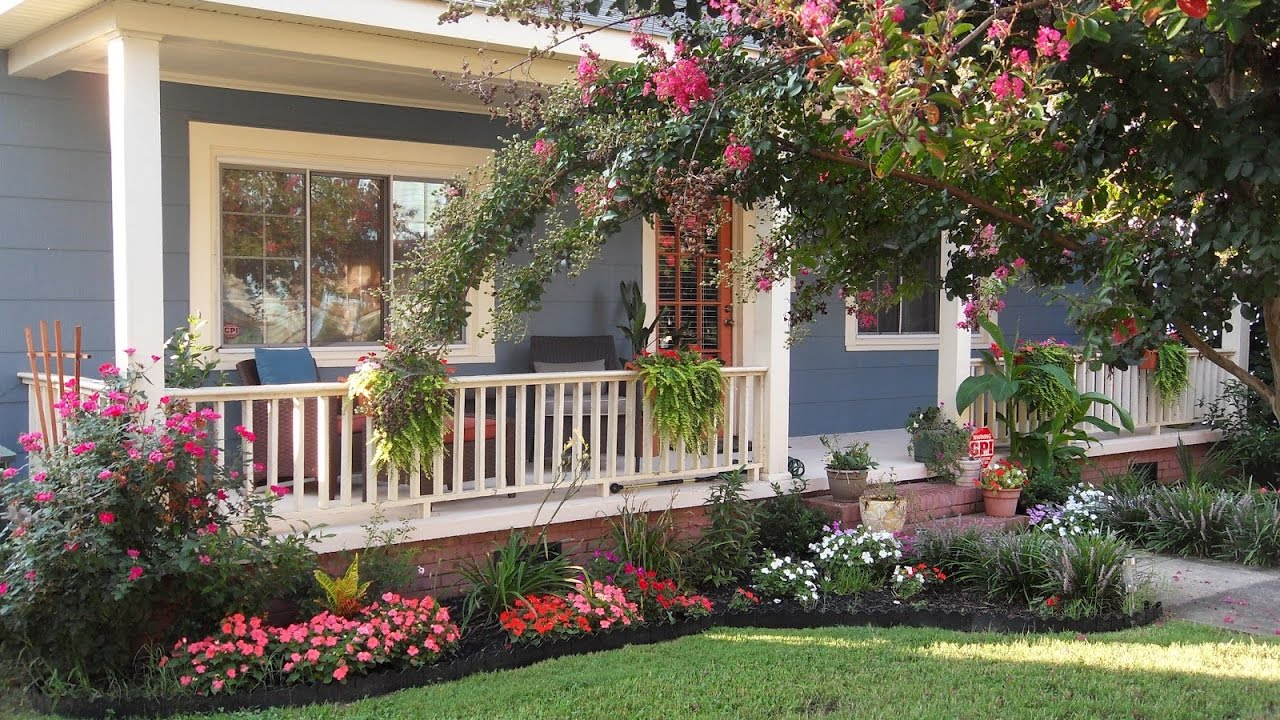 Small House Front Yard Ideas - YouTube on Front Yard Patio id=99556