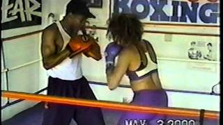 Tisha Campbell-Martin Showing Off Her Bomb Boxing Skills [2000]