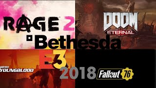 Every New Game Introduced in Bethesda's E3 Remix | E3 2018