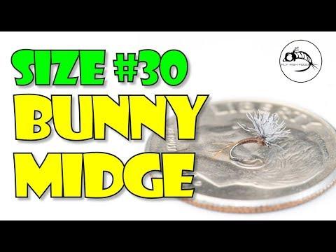 Size #30: Bunny Midge - SUPER Small Fly