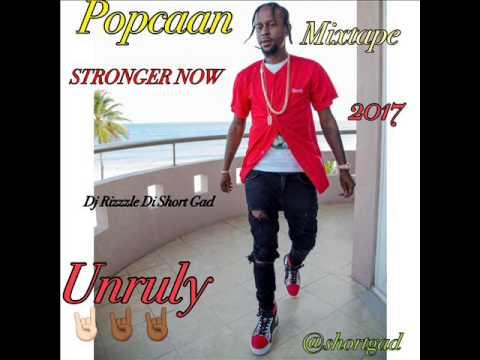 Popcaan - Stronger Now Mixtape [May 2017] Dj Rizzzle Di Short Gad