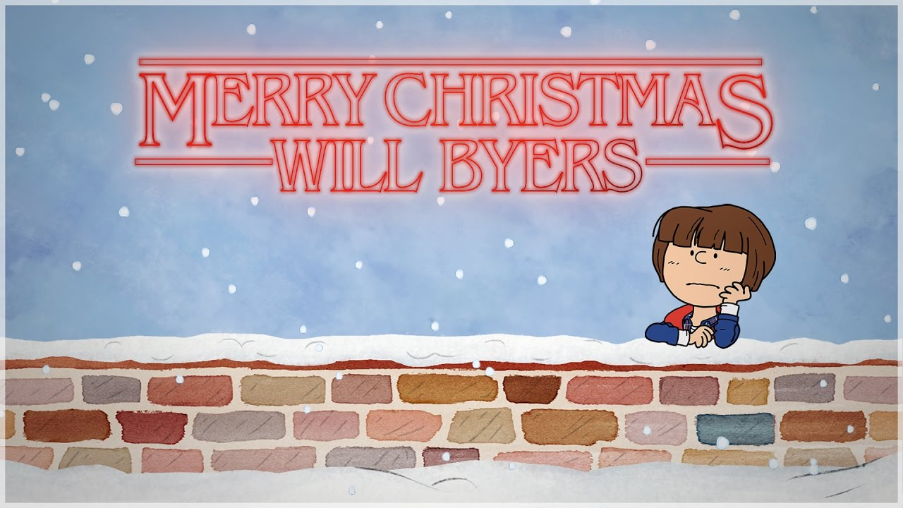 A Stranger Things Christmas.A Stranger Things Christmas