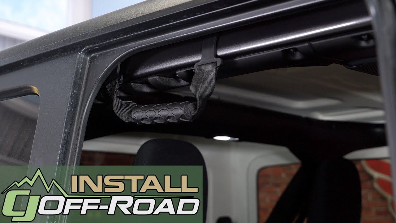 2018 Jeep Wrangler JL Mopar Rear Grab Handle Install
