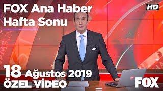 Binanın kolonları patladı, faciadan dönüldü! 18 Ağustos 2019 FOX Ana Haber Hafta Sonu