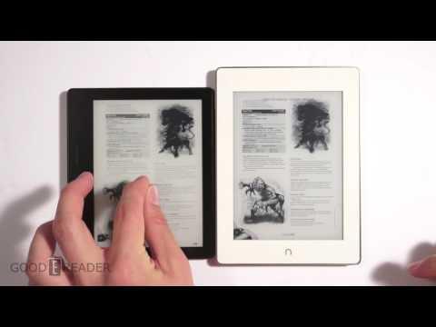 Kindle Oasis vs Nook Glowlight Plus