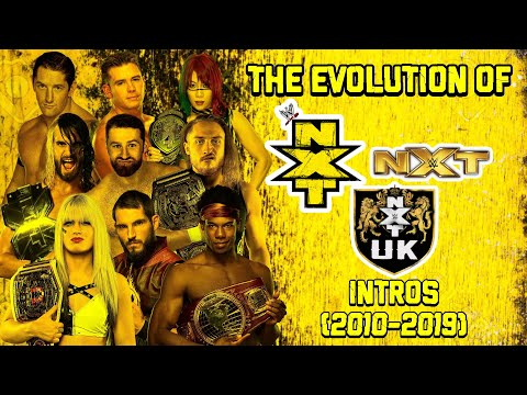 Evolution Of NXT Intros (2010-2019).