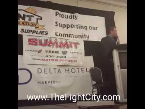 BOXING WEIGH INS in NEW BRUNSWICK October 14th 2016