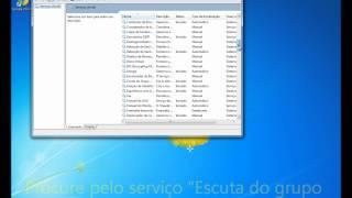 Windows Fail - Desativando o Grupo Doméstico no Windows 7